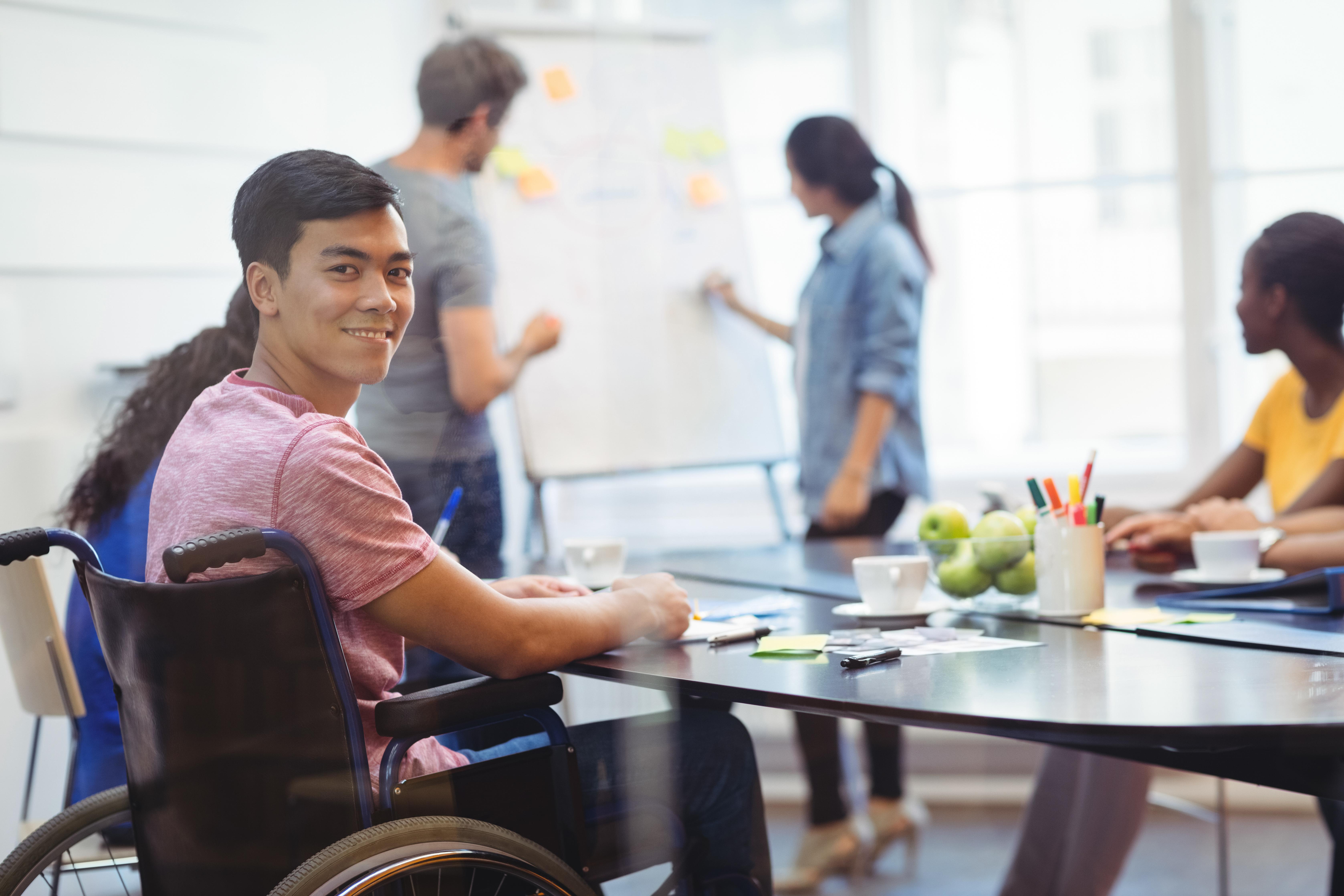 Sensibiliser les entreprises au handicap